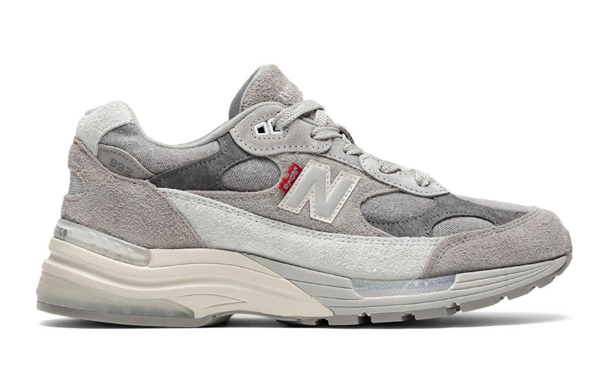 Levi's Take on the New Balance 992 Surfaces Online