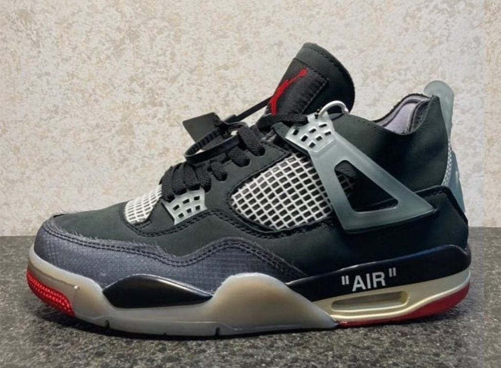 """Off-White x Air Jordan 4 """"Bred"""" Not Releasing This Year"""