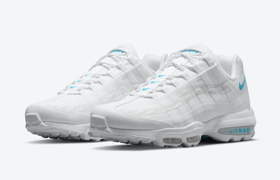 A White/Blue Nike Air Max 95 Ultra is on the Horizon