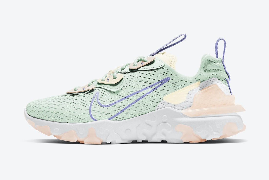 """Nike React Vision """"Barely Green"""" Dropping For The Spring"""