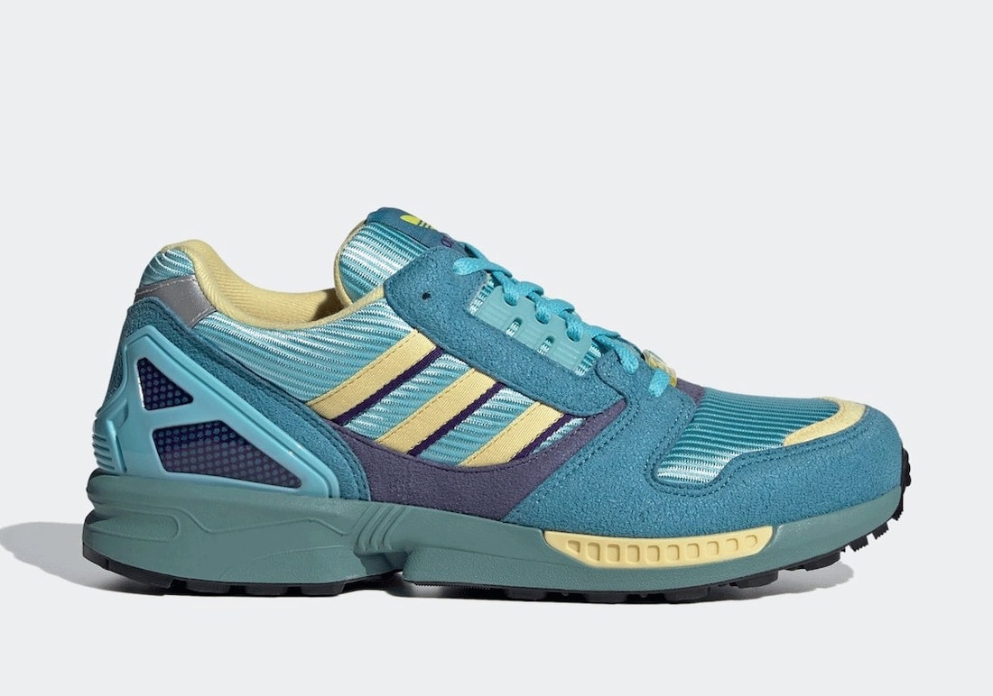 """adidas Originals Rereleases the ZX 8000 """"Aqua"""" Making it Widely Available"""