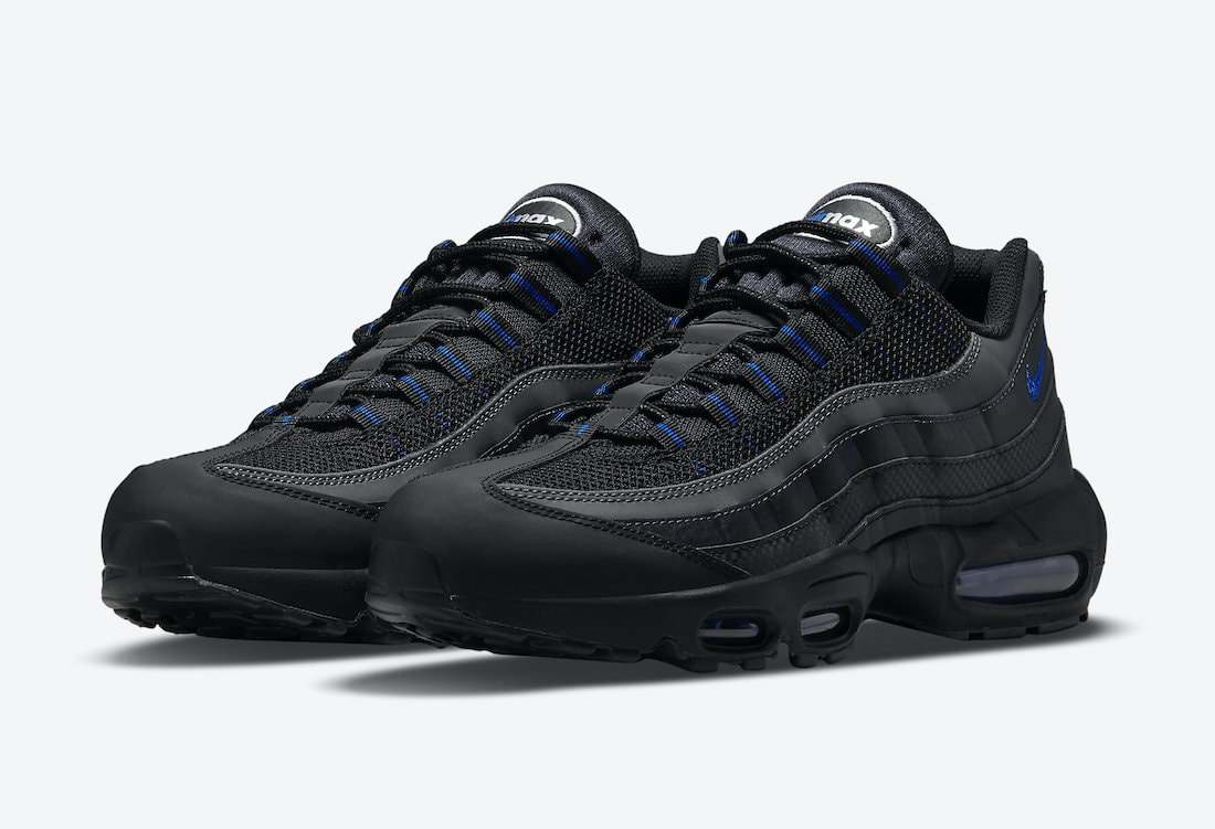Nike Adds a Black Royal Color-Scheme to the Air Max 95 ...