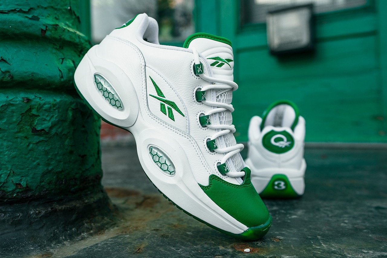"""Reebok Set to Bring Back 2006's """"Green Toe"""" Question Low"""