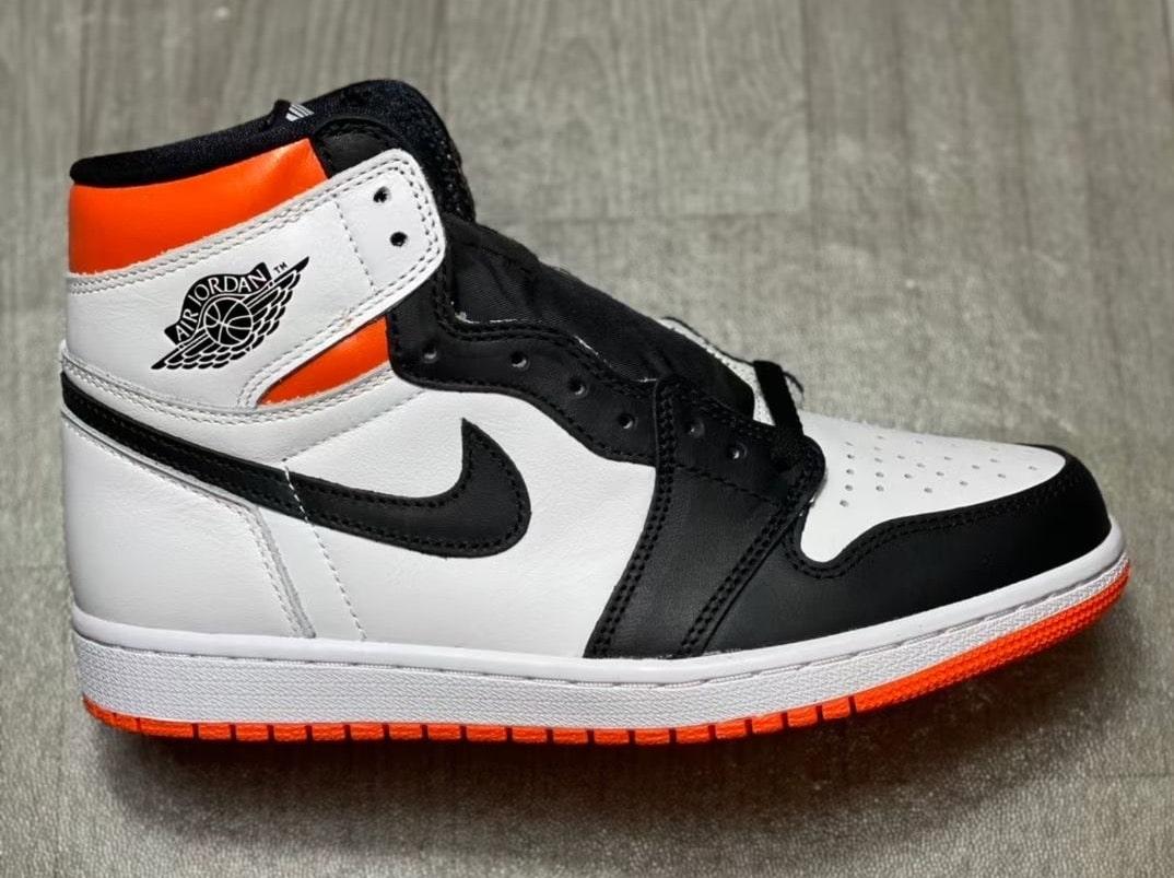 "More Images of the Air Jordan 1 High ""Electro Orange"""