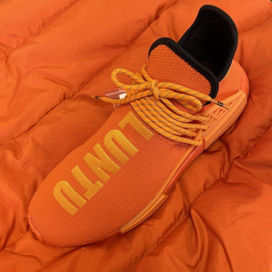 "The Pharrell x adidas NMD Hu ""Orange"" Releases Tomorrow"
