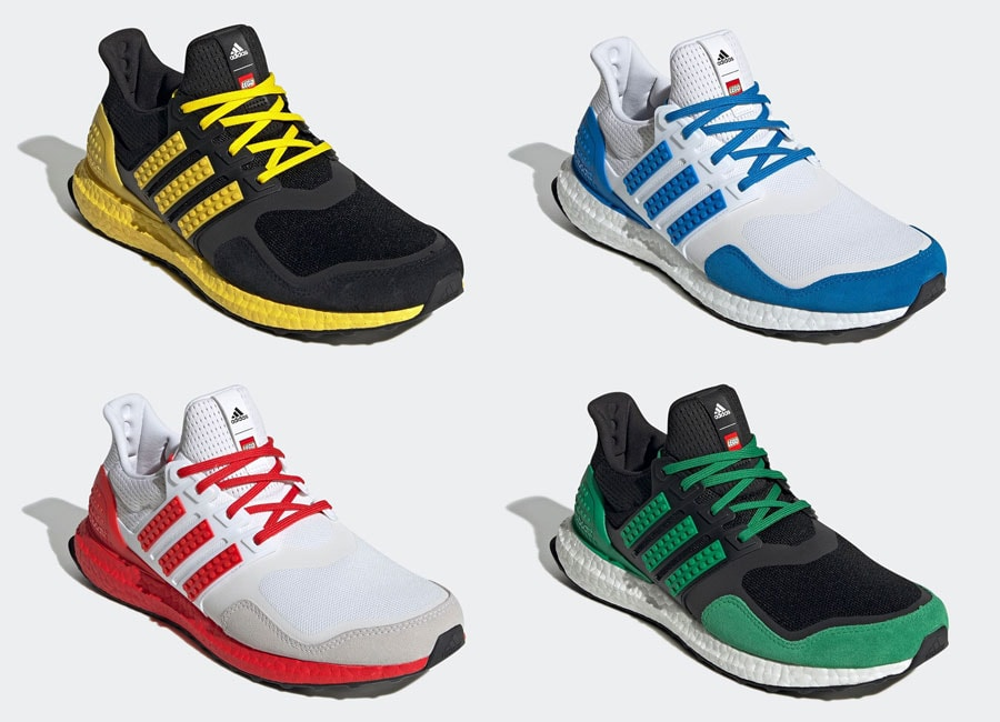 """LEGO and adidas Team Up Again for the Ultra Boost """"Color Pack"""""""