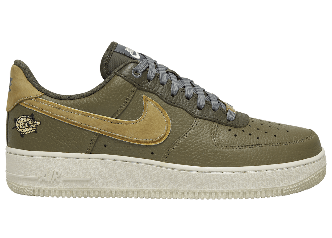 The Nike Air Force 1 Joins the Turtle Club for an Upcoming Release