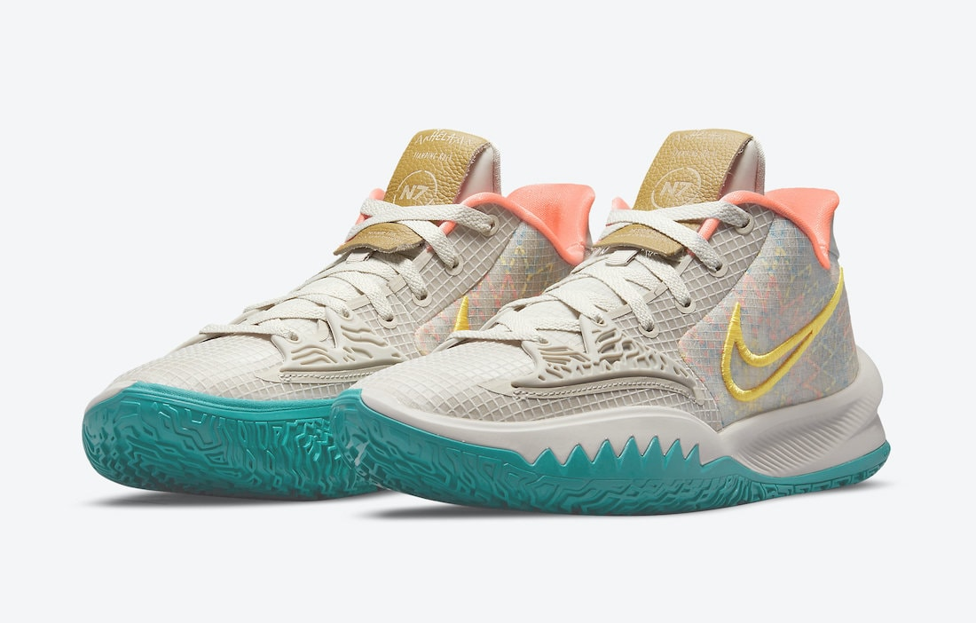 """The Nike Kyrie 4 Low Joins the 2021 """"N7"""" Collection"""
