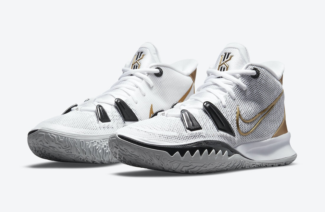 The Nike Kyrie 7 Prepares for the Finals With a Metallic Gold Rendition