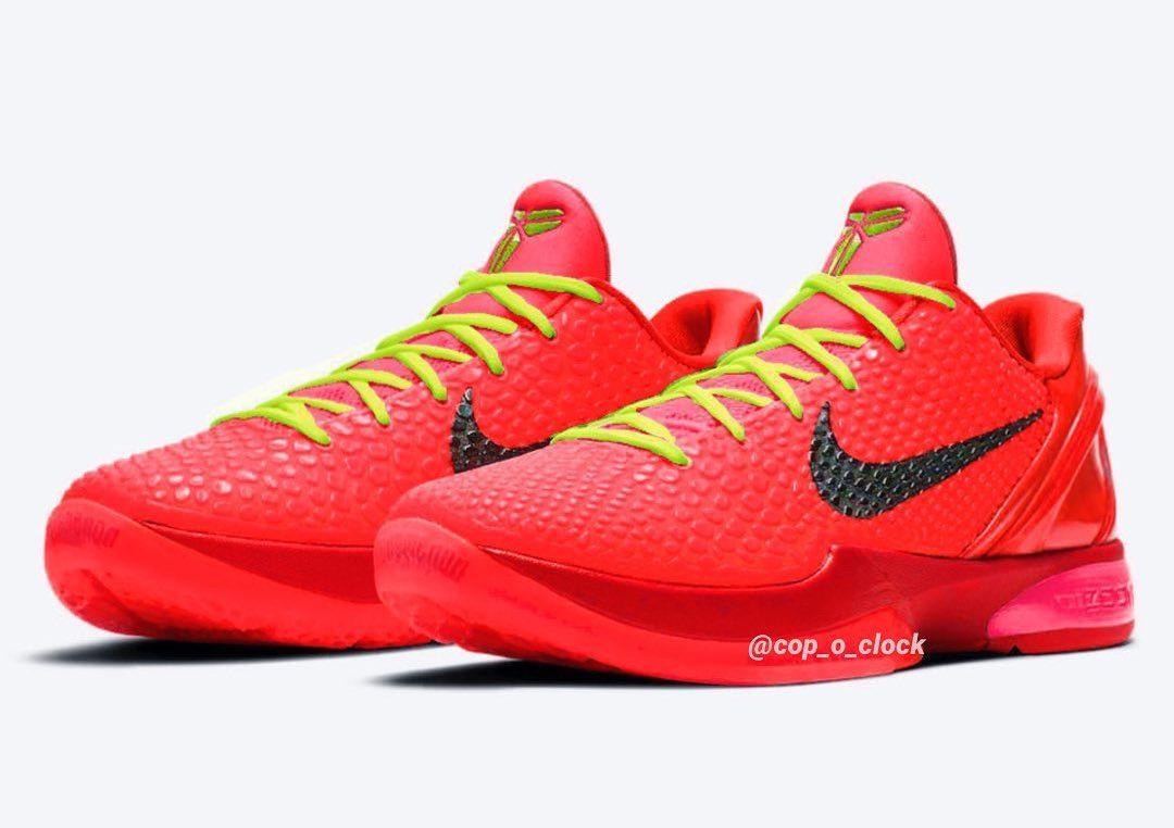 "AD Reveals a ""Reverse Grinch"" Nike Kobe 6 Protro"