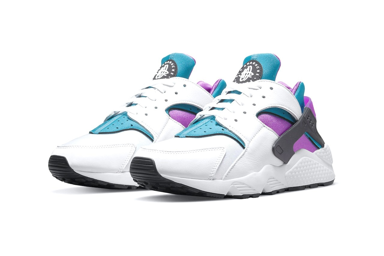 """Nike Debuts Another Remixed OG Air Huarache Colorway With The """"Deep Magenta"""" Look"""