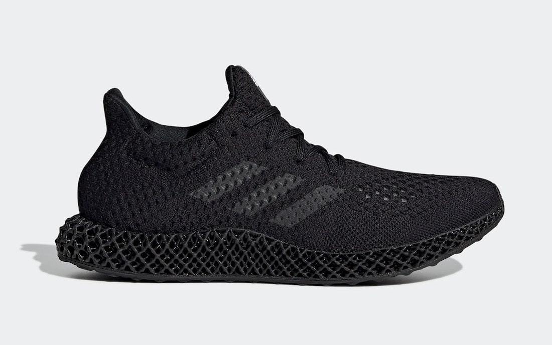 """adidas Futurecraft 4D Scheduled for a """"Triple Black"""" Makeover"""