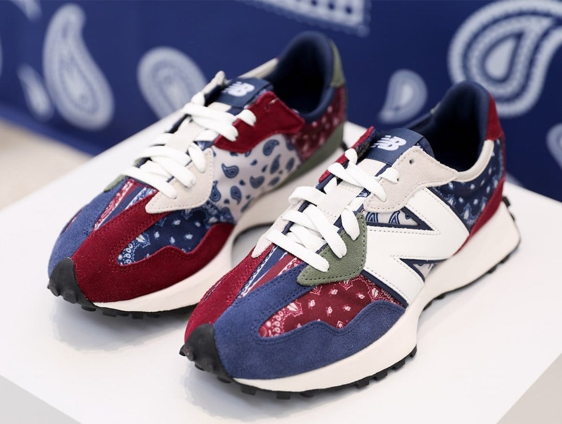 """New Balance's 327 Emerges in Two """"Paisley""""-Themed Colorways"""
