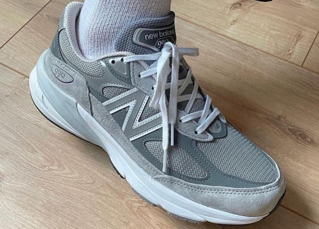 The New Balance 990v6 Appears in New On-Feet Photos