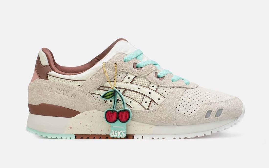 """Nice Kicks' Summer Sneaker Releases Continue With the """"Spumoni"""" Asics GEL-Lyte III"""