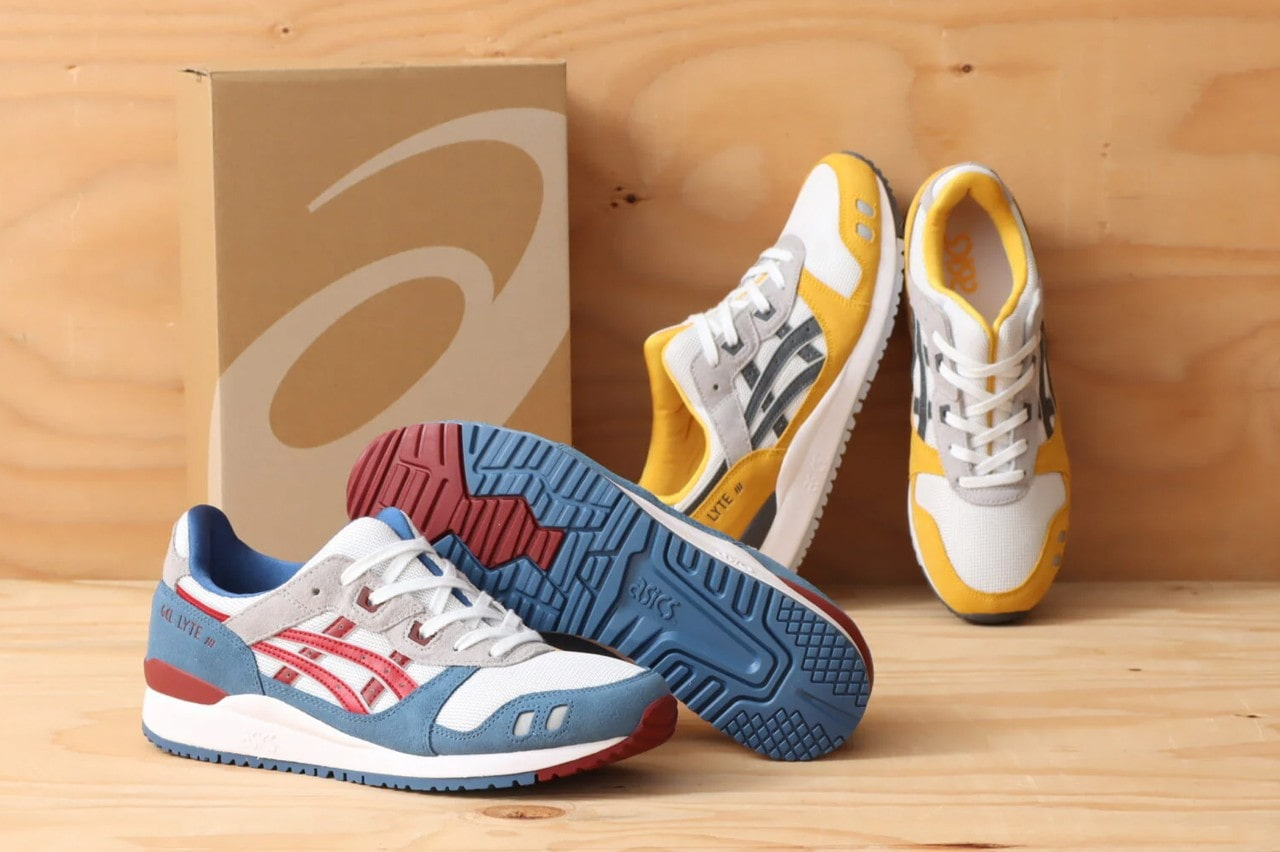 Asics' Classic GEL-Lyte III Returns in Two New Colorways for Summer