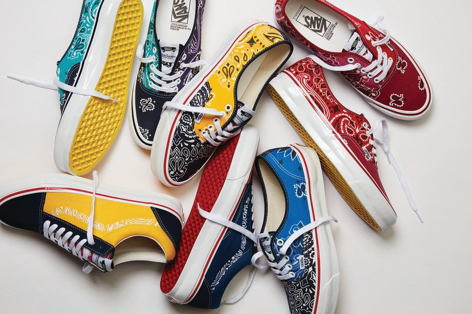 Bedwin & The Heartbreakers Unveil a Paisley Collection of Vans Footwear