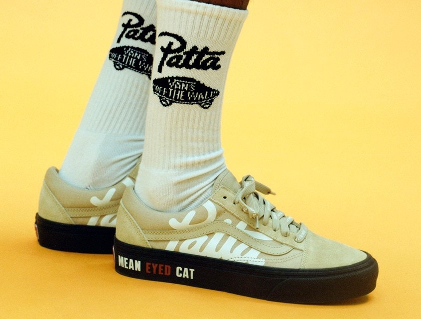 """Patta and Vault by Vans Reunite to Revive the """"Mean Eyed Cats"""" Project"""