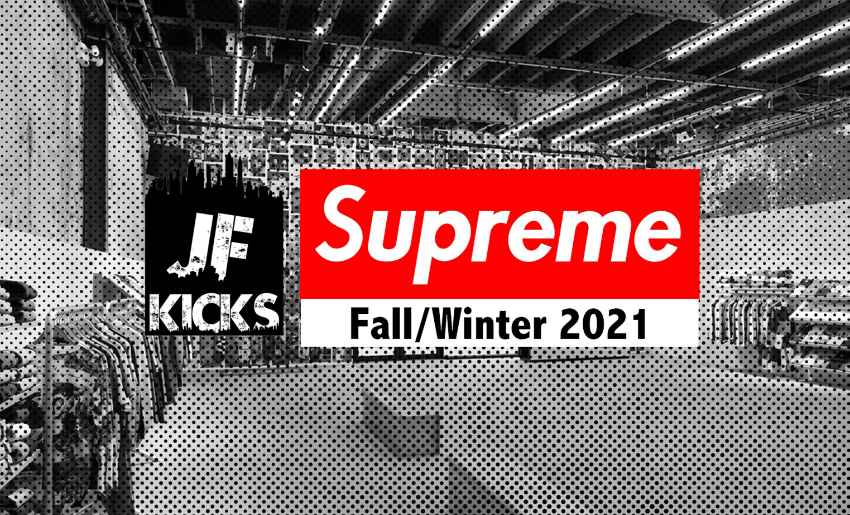 Supreme FW21 Week 10 Droplist
