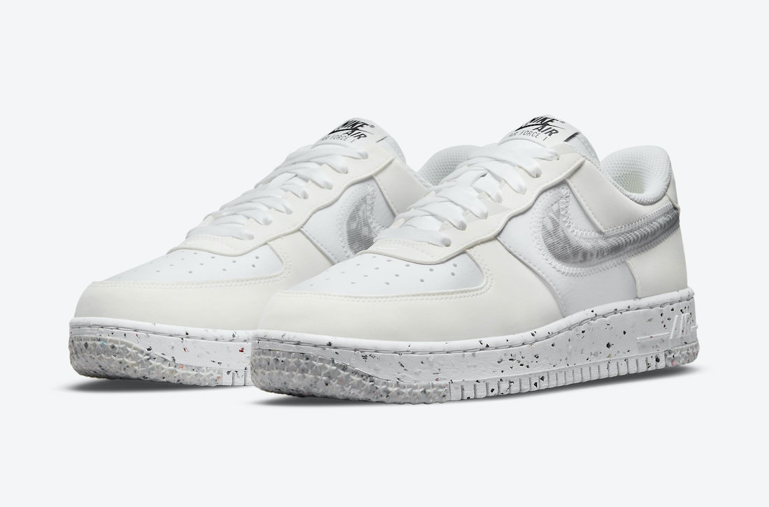 Nike Air Force 1 Crater Slated for a White Design