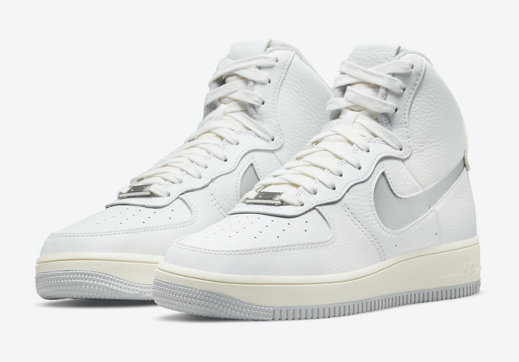 """Nike's Air Force 1 Strapless Emerges in a Second """"Neutral Grey"""" Color Scheme"""