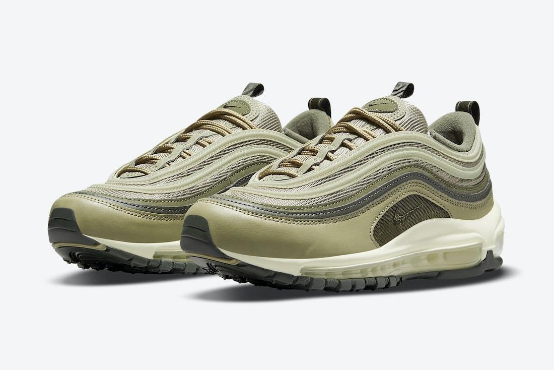 Nike Air Max 97 Olive DO1164-200 Release Details - JustFreshKicks