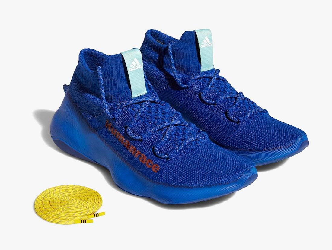 "Pharrell x adidas Humanrace Sichona ""Blue"" Release Date"