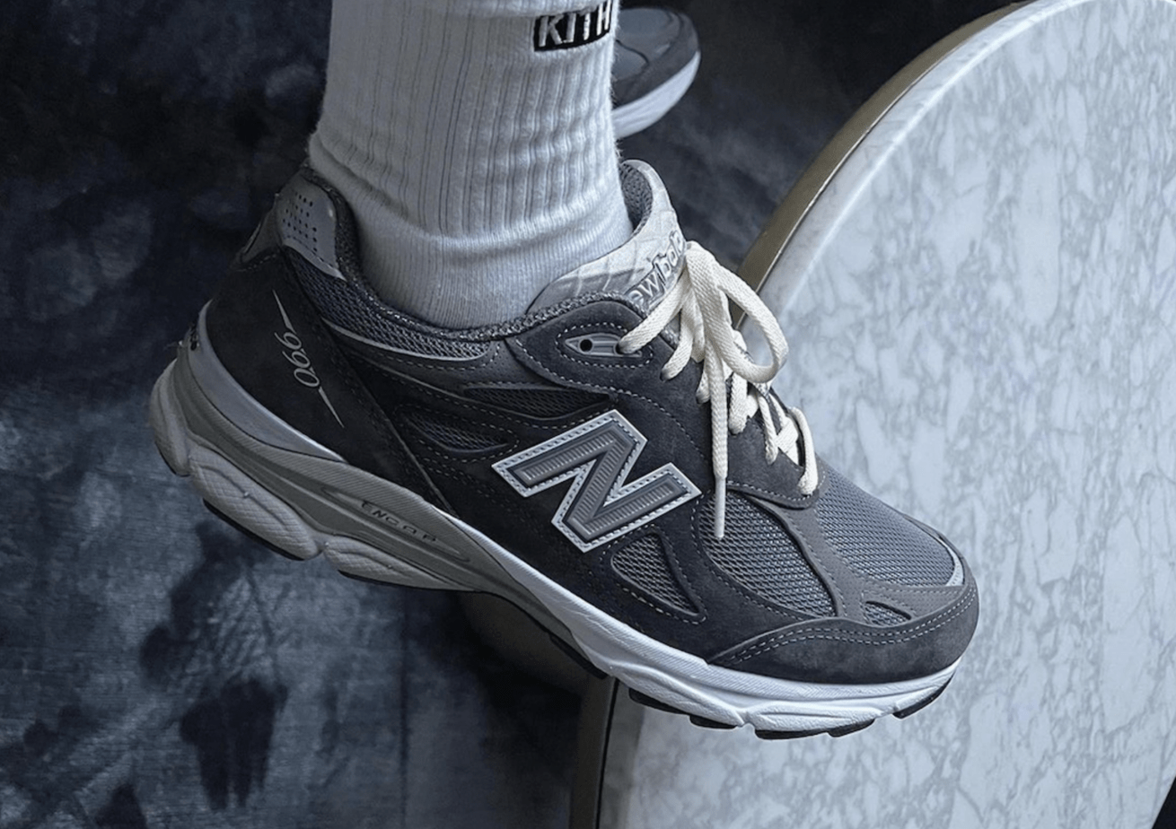 """Ronnie Fieg Teases an Upcoming Kith-Exclusive """"Tornado"""" Grey Colorway of the New Balance 990v3"""