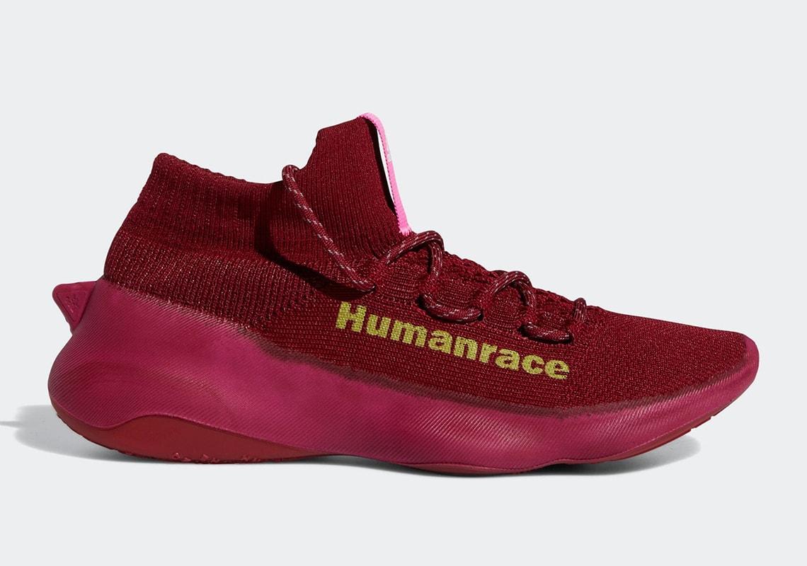 Pharrell x adidas Humanrace Sichona Revealed in Burgundy