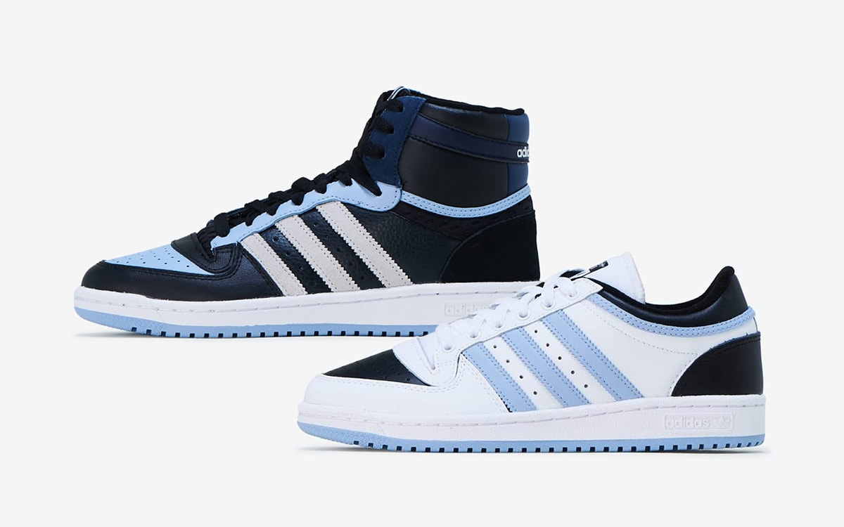 adidas Quietly Drops a Two-Pack of Tar Heel-Themed Top Tens
