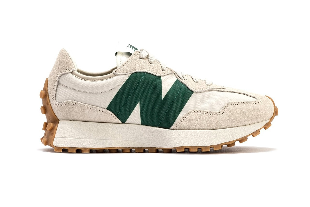 """New Balance's 327 Lands in an Ever-Popular """"Cream/Green"""" Colorway"""