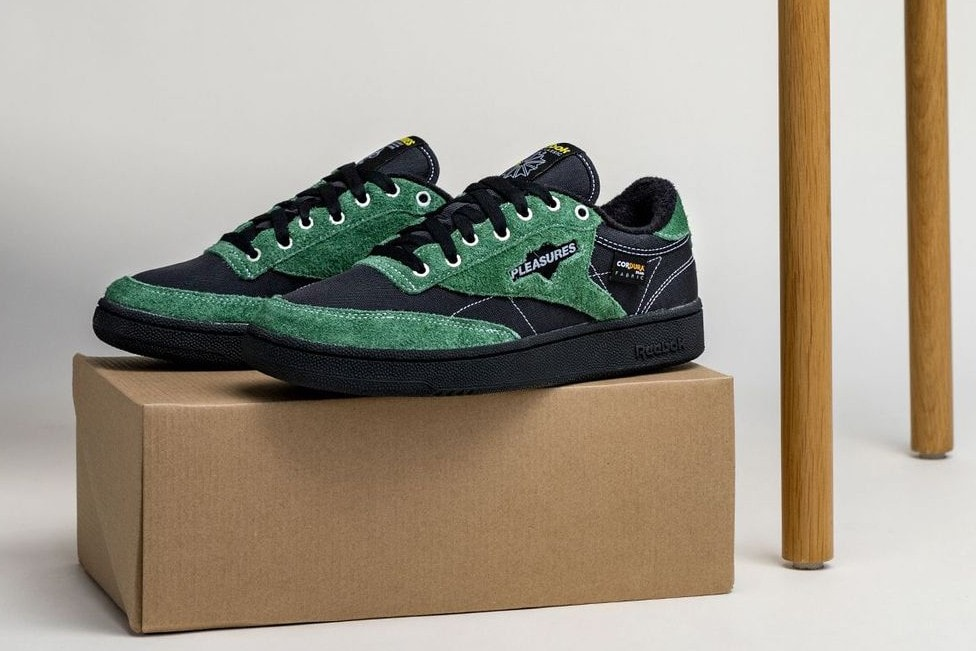Pleasures is the Latest Reebok Collaborator to Deliver the Club C 85/Legacy One-Two Combo