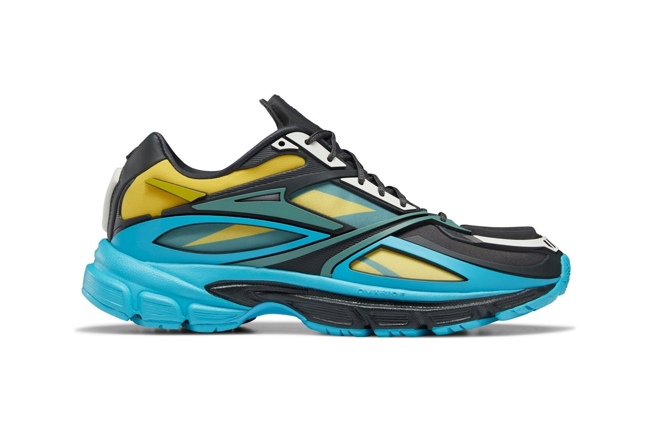 """Reebok's Premier Road Modern Mixes Blue, Yellow, and Black for the New """"Dark Hyper"""" Look"""
