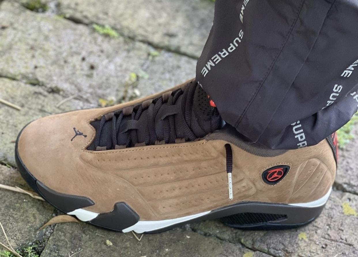 "How the Air Jordan 14 ""Winterized"" Looks On Foot"