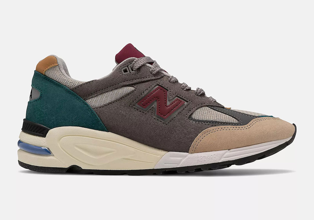 New Balance's Made in US 990v2 Releases in a Multicolor Look This Week