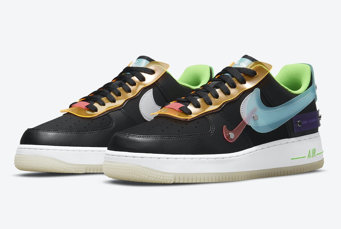 """Nike Gives Another Air Force 1 a """"Have a Good Game"""" Theme"""