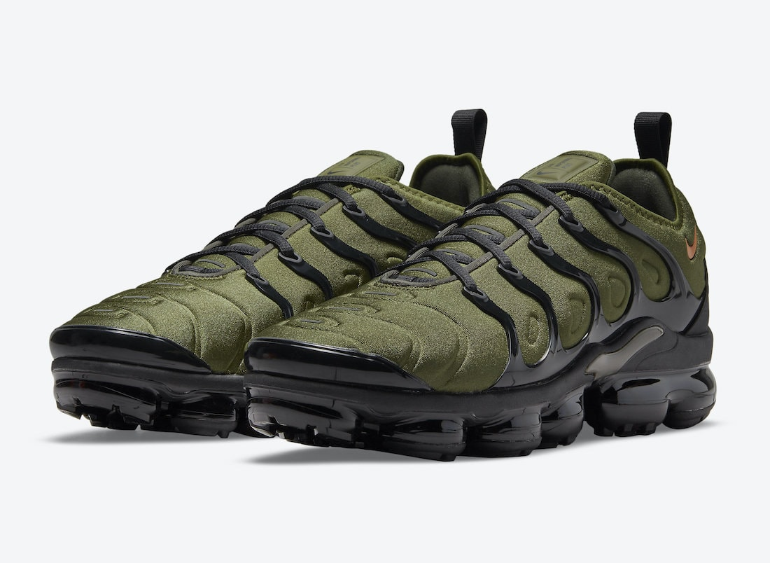 Nike Adds Undefeated Vibes to an Olive Nike Air Max Plus