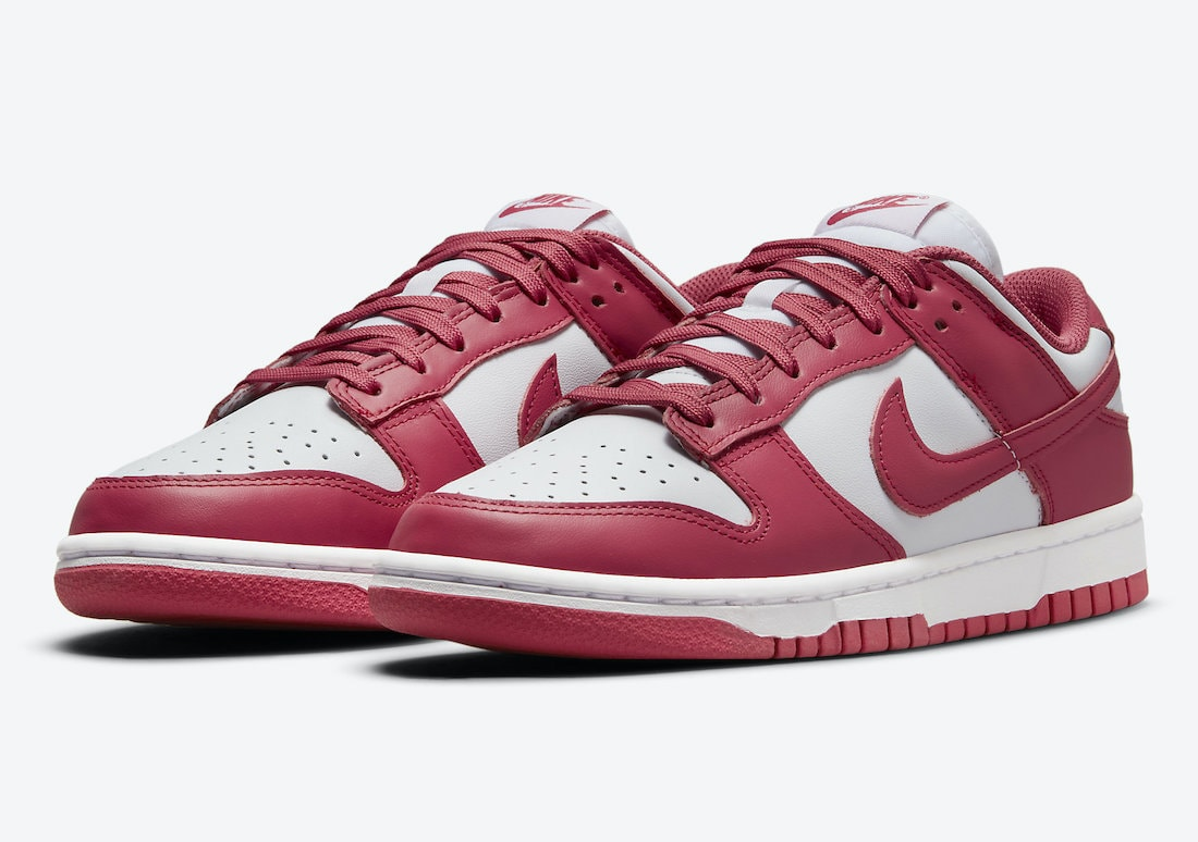 """Official Images of the Nike Dunk Low """"Archeo Pink"""""""