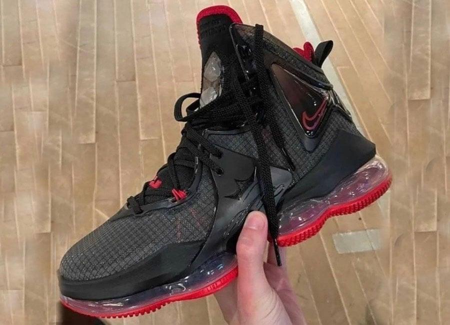 "First Look: Nike LeBron 19 ""Bred"""