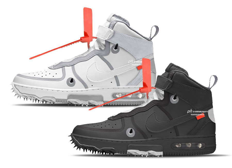 Off-White x Nike Air Force 1 Mid Collection Coming 2022