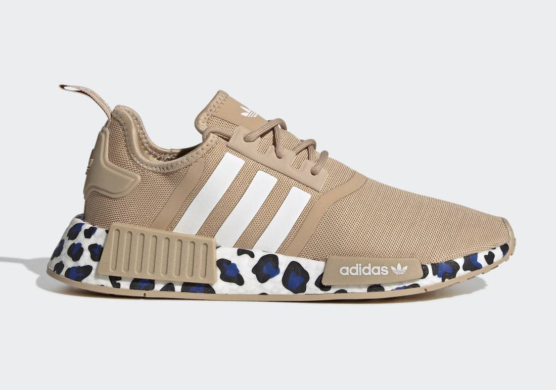"""adidas NMD R1 """"Pale Nude"""" Goes Exotic with Colorful Leopard Detailing"""