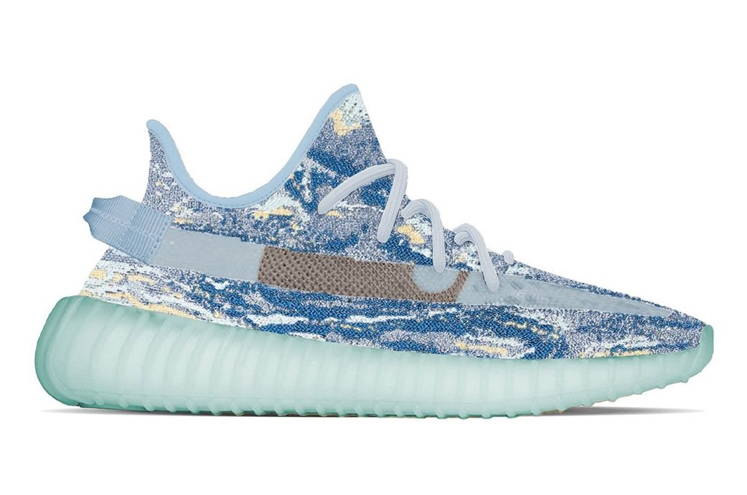 """adidas Yeezy Boost 350 V2 """"MX Blue"""" Dropping in 2022"""