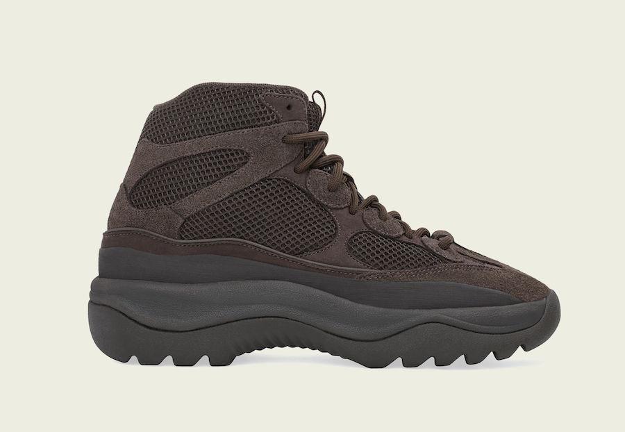 """adidas Yeezy Desert Boot """"Oil"""" Restocks September 13th"""