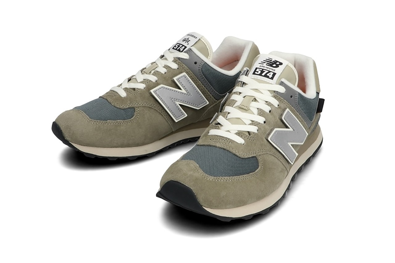 Alpha Industries Gives the New Balance 574 a Makeover Inspired by its' Famous Bomber Jackets