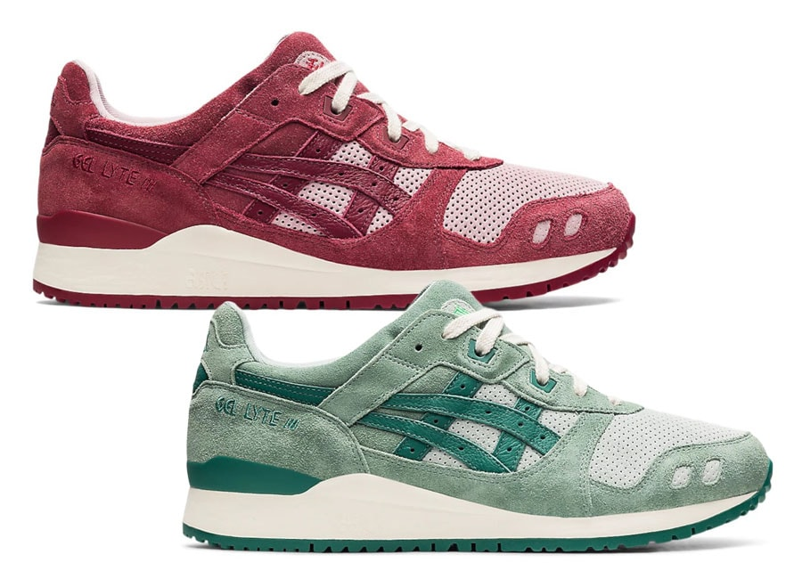 """Asics Celebrates the Autumnal Equinox With a """"Changing Seasons"""" Gel-Lyte III Pack"""