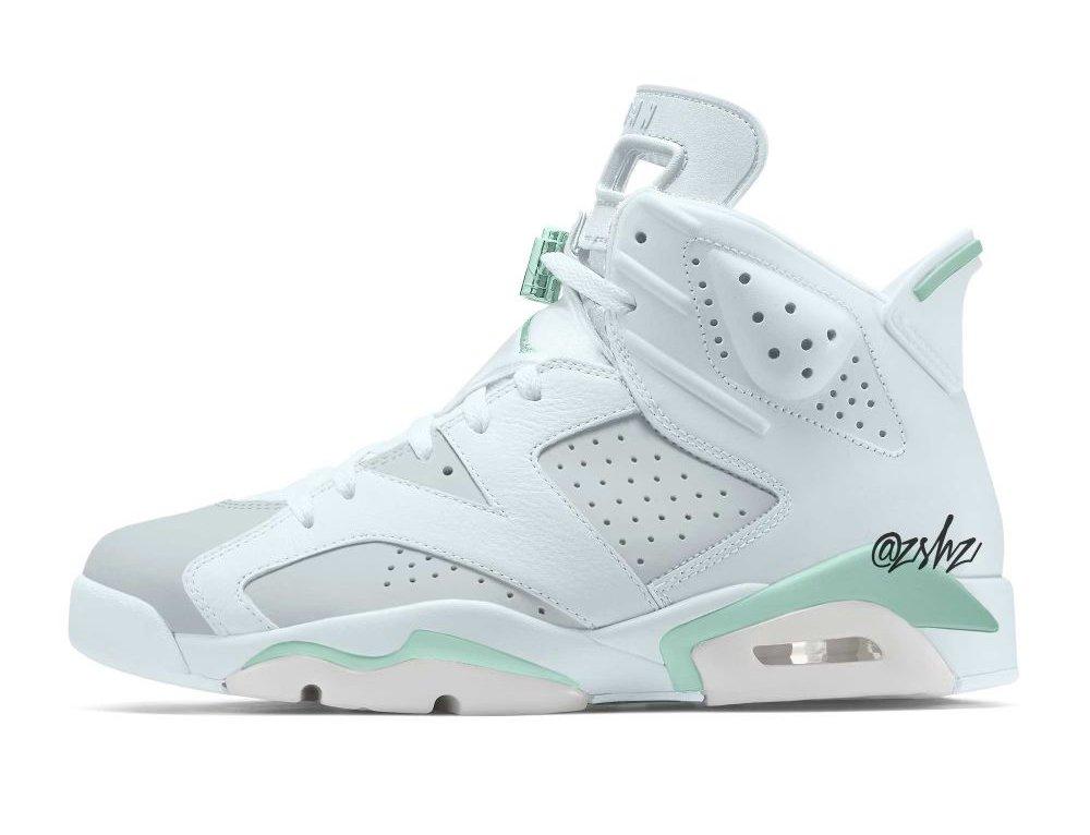 "Air Jordan 6 ""Mint Foam"" Scheduled for March 2022"