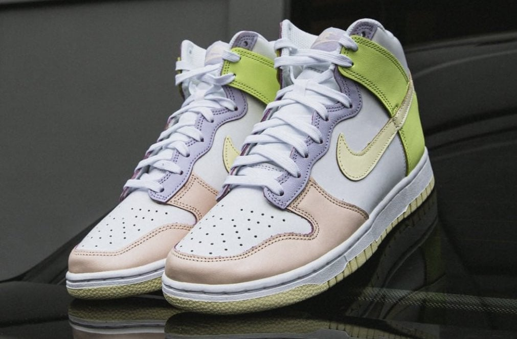 """The Nike Dunk High """"Cashmere"""" Releases Tomorrow"""
