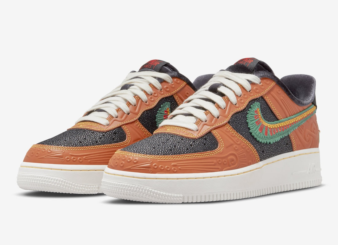 """Official Look: Nike Air Force 1 Low """"Siempre Familia"""""""