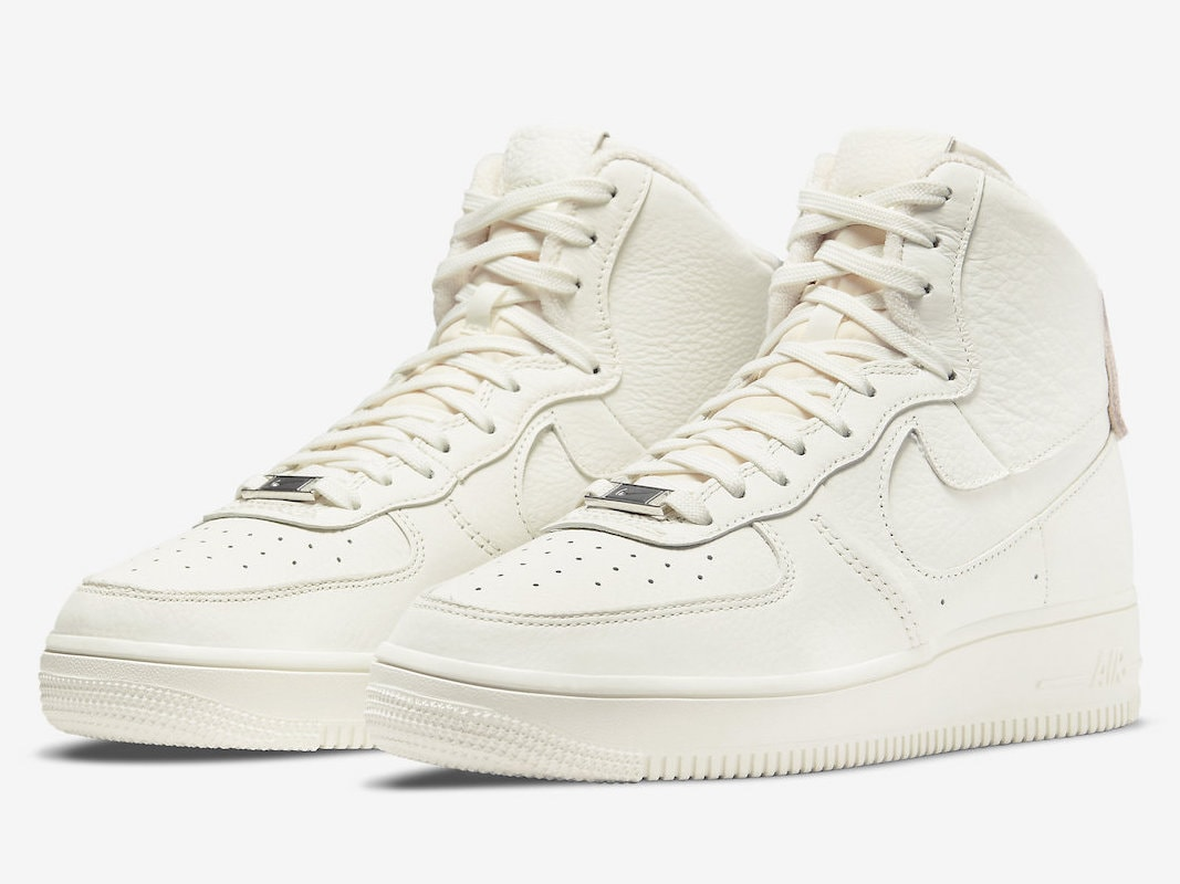 """Nike's Strapless Air Force 1 High Emerges in a Fresh """"Sail"""" Color Scheme"""