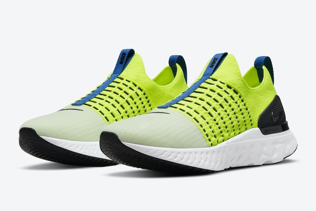 """Official Look: Nike React Phantom Run Flyknit 2 """"Volt"""""""